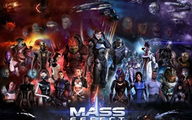 Preview wallpaper Mass Effect, game HD