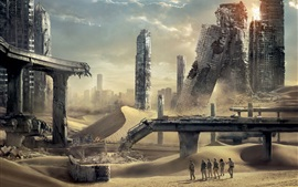 Preview wallpaper Maze Runner: The Scorch Trials