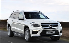 Mercedes-Benz GL 350 AMG car speed Wallpapers Pictures Photos Images