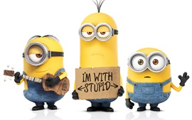 Preview wallpaper Minions 2015 movie