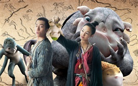 Preview wallpaper Monster Hunt HD movie 2015
