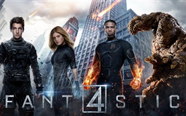 Preview wallpaper The Fantastic Four 2015
