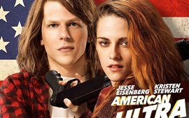 Preview wallpaper American Ultra, Kristen Stewart, Jesse Eisenberg