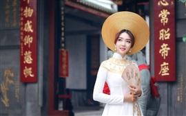 A menina asiática, China