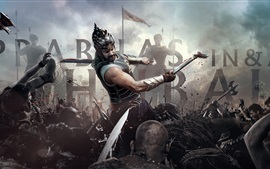Preview wallpaper Baahubali: The Beginning, India 2015 movie