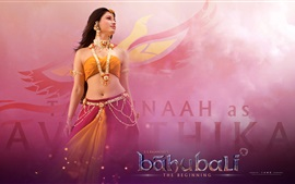 Preview wallpaper Baahubali: The Beginning, beautiful girl