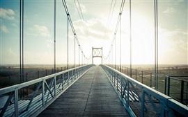 Bridge, sunlight