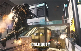 Preview wallpaper Call of Duty: Advanced Warfare, fierce fighting