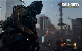Preview wallpaper Call of Duty: Advanced Warfare, night