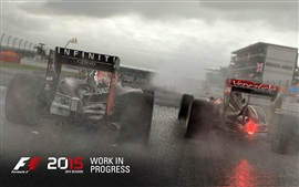 Preview wallpaper F1 2015, race cars