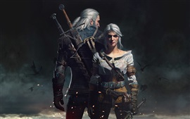 Preview wallpaper The Witcher 3: Wild Hunt, HD game