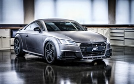 Preview wallpaper 2015 ABT Audi TT car front view