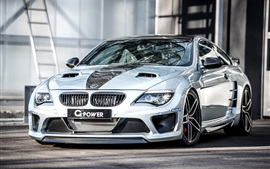 Preview wallpaper 2015 G-Power BMW M6 supercar
