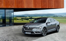 Preview wallpaper 2015 Renault Talisman gray car