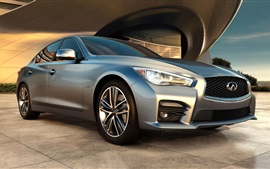 Preview wallpaper Infiniti Q50 sedan front view