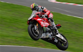Preview wallpaper Motorcycle speed, racing, track