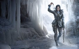 Preview wallpaper Rise of the Tomb Raider, ice, winter