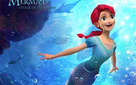 Preview wallpaper The Little Mermaid: Attack of The Pirates, 2015 cartoon movie