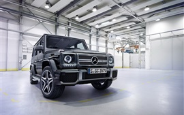 Preview wallpaper 2015 Mercedes-Benz AMG G63 W463 SUV car