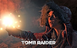 Rise of the Tomb Raider, Lara Croft, night, firelight