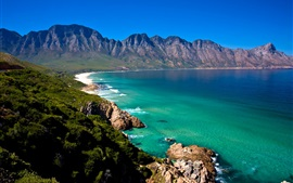 Preview wallpaper South Africa, Cape Town, beach, sea, coast