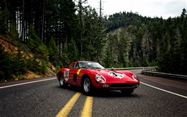 Preview wallpaper 1964 Pininfarina Ferrari 250 GTO Series II red supercar