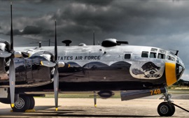 Preview wallpaper B-29 military aircraft