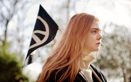 Ginger and Rosa, Elle Fanning