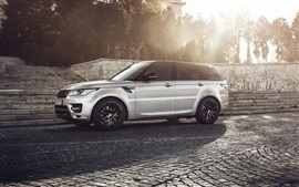 Preview wallpaper Land Rover, Range Rover, sunset