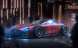 Preview wallpaper Mazda RX-Vision concept supercar