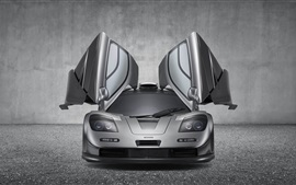 Preview wallpaper McLaren F1 GT supercar, wings
