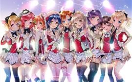 Sakura Kawabe, niñas de la escuela de anime