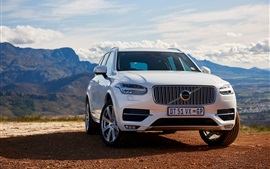 Preview wallpaper 2015 Volvo XC90 T6 SUV car
