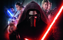 Preview wallpaper 2016 movie, Star Wars Episode VII: The Force Awakens