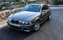 Preview wallpaper BMW M5 E39 car, road