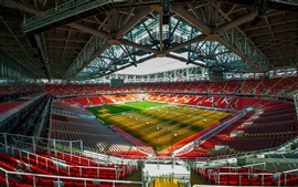 Preview wallpaper FC Spartak Stadium, football, lawn