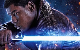 Aperçu fond d'écran John Boyega, Star Wars Episode VII: La Force Awakens