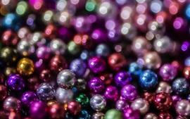 Muitas bolas, colorido, brilho