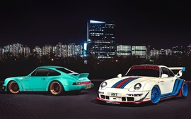 Preview wallpaper Porsche 911 Carrera supercars, Hong Kong