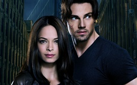 Preview wallpaper Beauty and the Beast, Kristin Kreuk, Jay Ryan