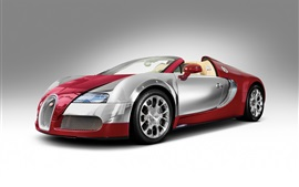 Preview wallpaper Bugatti Veyron red roadster