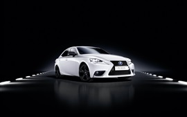 2015 Lexus IS coche blanco