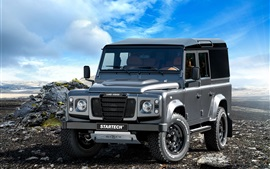Preview wallpaper 2015 Startech Range Rover Defender 110 pickup