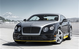 Preview wallpaper 2015 Bentley Continental GT supercar front view