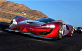 Preview wallpaper 2015 Dodge SRT Tomahawk Gran Turismo supercar speed