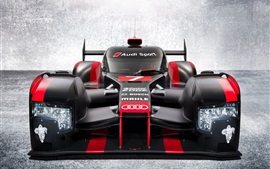 Preview wallpaper Audi R18 e-tron supercar front view