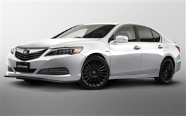 Preview wallpaper Honda Legend Hybrid car side view