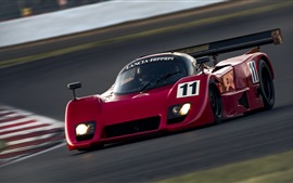 Preview wallpaper Lancia Ferrari red race car
