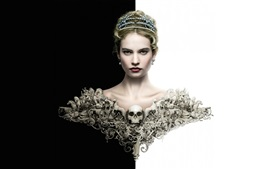 Preview wallpaper War and Peace, Lily James