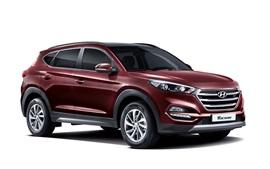 2015 Hyundai Tucson KR-spec SUV coche rojo
